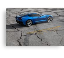 2014 Chevrolet Corvette Stingray Z51 Metal Print