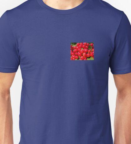 Red Bubbles.. Unisex T-Shirt