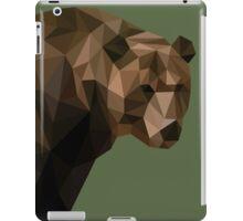 Low Poly Brown Bear iPad Case/Skin