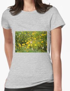 Springtime In The Desert Womens Fitted T-Shirt