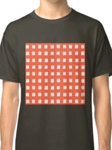 Seamless pattern with square motive Classic T-Shirt