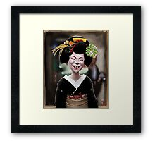 The Ugly Geisha Framed Print