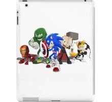 Sonic Avengers iPad Case/Skin