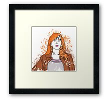 The most important woman in the Universe Framed Print
