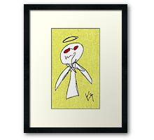 """""""Evil Angel (Cooked)"""" by Richard F. Yates Framed Print"""