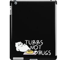Tubbs Not Drugs - Neko Atsume (White) iPad Case/Skin