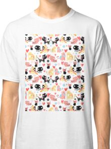 funny pattern lovers cats Classic T-Shirt