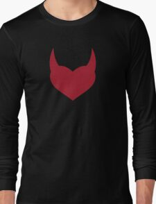 Horny Devil - love, heart, valentine, fun, cute, funny, erotic, sexy Long Sleeve T-Shirt