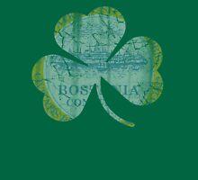 Vintage Irish Flag of Boston Shamrock Unisex T-Shirt
