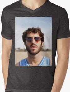 Lil Dicky Mens V-Neck T-Shirt
