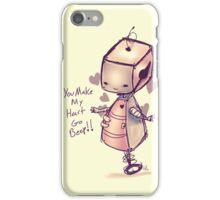 Robot Valentine  iPhone Case/Skin