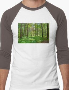 An Emerald Forest Men's Baseball ¾ T-Shirt