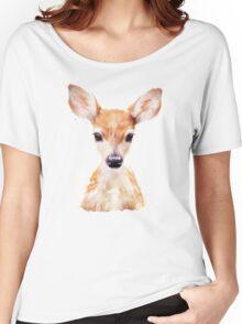 Little Deer Women's Relaxed Fit T-Shirt
