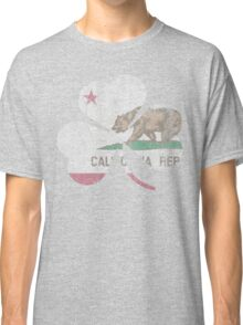 Vintage Irish Flag of California Shamrock Classic T-Shirt