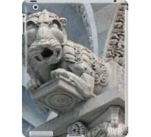 Lion On The Duomo iPad Case/Skin