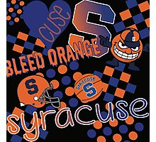 Syracuse University Collage Photographic Print