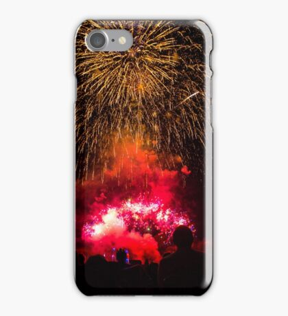 Exploding Finale iPhone Case/Skin