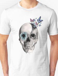 Open minded, unzipping sugar skull  Unisex T-Shirt