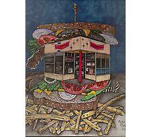 The All Star Sandwich Bar Photographic Print