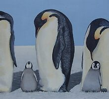 Penguins by Andy  Housham