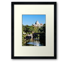 Animal Kingdom - Expedition Everest Framed Print