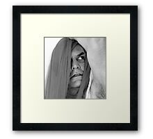 BEING LAWRENCE Framed Print