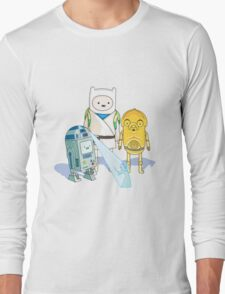 Star Wars Adventure Time Long Sleeve T-Shirt