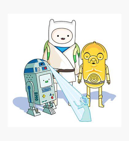 Star Wars Adventure Time Photographic Print