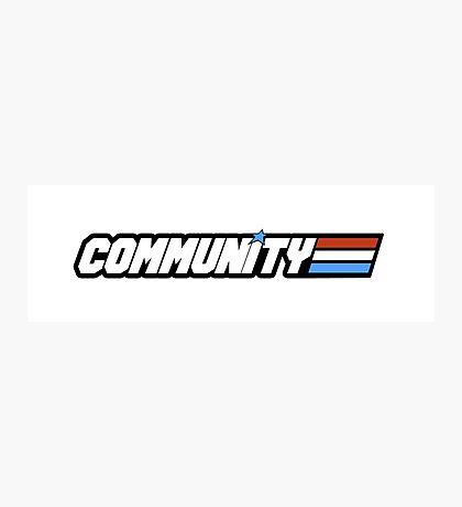 Community G.I Joe Photographic Print