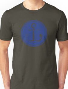 Anchor (one color - blue) Unisex T-Shirt