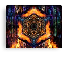 Fire Air Water Earth Canvas Print