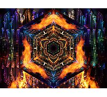 Fire Air Water Earth Photographic Print