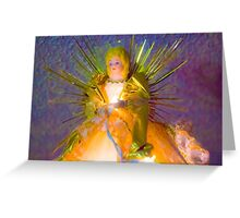 Gold Angel II Greeting Card