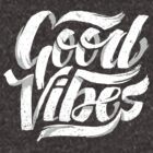 Good Vibes - Feel Good T-Shirt Design by Sebastian Stadler