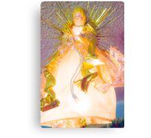 Gold Angel I Canvas Print