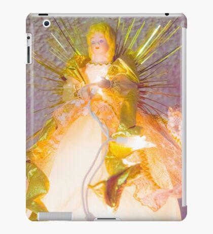 Gold Angel I iPad Case/Skin