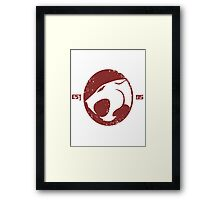 Legendary Thundercats  Framed Print