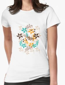 Floral Pattern #30  Womens Fitted T-Shirt