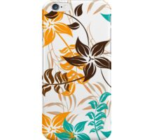 Floral Pattern #30  iPhone Case/Skin