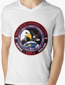 SBIRS Geo-2 Mens V-Neck T-Shirt
