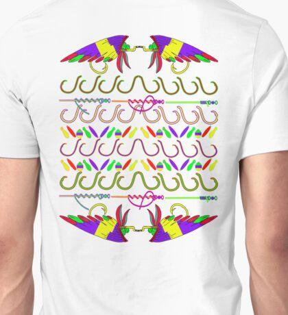 Ugly fishing christmas sweater t-shirt Unisex T-Shirt