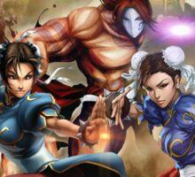 Street Fighter X Tekken and Chun li legends Phone Case Sticker