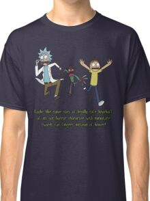 Rick and Morty – Looks Like an '80s Knockoff Classic T-Shirt