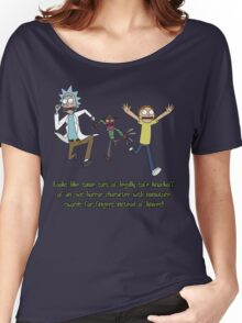 Rick and Morty – Looks Like an '80s Knockoff Women's Relaxed Fit T-Shirt