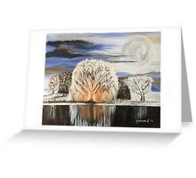 White Willow Greeting Card