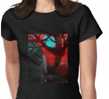 Forest Dream Womens Fitted T-Shirt