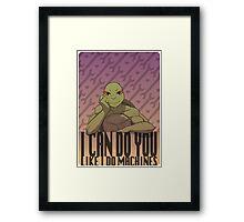 Valentine Card - TMNT Donatello Framed Print