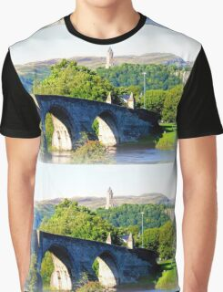 Historical Stirlingshire Graphic T-Shirt