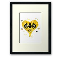 Batman - In my heart since 1939 Framed Print