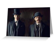 Holmes & Watson Greeting Card